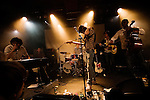 Tahiti Boy and the Palmtree family, live a La Maroquinerie, Paris 20, France. 18 september 2008.