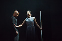 Edinburgh, UK. 19.08.2014.  Akram Khan's GNOSIS opens at the Edinburgh International Festival. Picture shows: Akram Khan and Fang-Yi Sheu. © Jane Hobson.