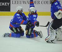 IJSHOCKEY: HEERENVEEN: IJsstadion Thialf, 19-03-2017, UNIS Flyers Heerenveen - Hijs Den Haag, uitslag 3-3 , overtime 4-3, ©foto Martin de Jong