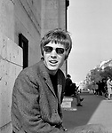 Walker Brothers 1966 Scott Walker at Arc de Triomphe in Paris.© Chris Walter.