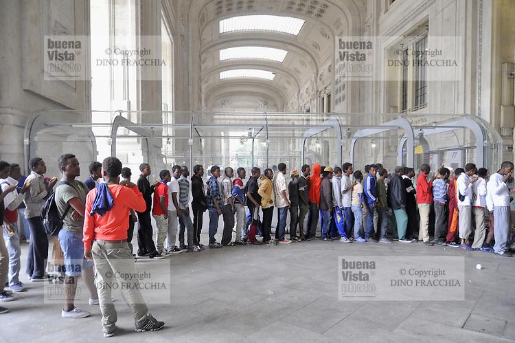 Emergenza profughi a Milano