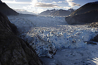 Tracy Arms, a retreating glacier on the east side of the Tongass National Forest wilderness.