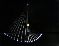 FREELY SWINGING PENDULUM<br /> Two Arc Pendulum<br /> Bob still rises to reference line