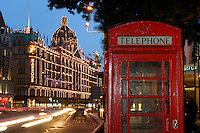 Harrod's Department Store, Knightsbridge, London, Great Britain, UK