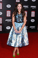 HOLLYWOOD, LOS ANGELES, CA, USA - NOVEMBER 04: Katie Lowes arrives at the Los Angeles Premiere Of Disney's 'Big Hero 6' held at the El Capitan Theatre on November 4, 2014 in Hollywood, Los Angeles, California, United States. (Photo by David Acosta/Celebrity Monitor)