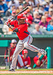 2 March 2013: Washington Nationals outfielder Eury Perez in action during a Spring Training game against the St. Louis Cardinals at Roger Dean Stadium in Jupiter, Florida. The Nationals defeated the Cardinals 6-2 in their first meeting since the NLDS series in October of 2012. Mandatory Credit: Ed Wolfstein Photo *** RAW (NEF) Image File Available ***