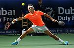 Dubai ATP Tennis - 28 Feb 2015