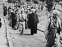 Iraq 1970.General Barzani with religious personalities.Irak 1970.Le general Barzani recevant des personnalites religieuses