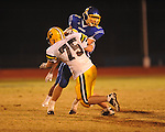 Oxford High's Robert Farris (27) vs. Hernando in Oxford, Miss. on Friday, October 14, 2011. Hernando won 31-30 in overtime.