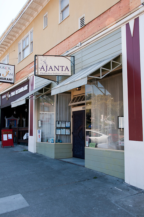 Berkeley, California: Ajanta Indian Restaurant.  Photo copyright Lee Foster.  Photo # california123418