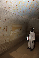 The tomb of Qalhata, mother of King Tanwetamani, pictured on Tuesday, March 27, 2007. The tomb is part of the royal cemetery at El Kurru of which little is known. The earliest tombs date from the 9th century BC, it is thought that El Kurru was an early capital of Kush before moving to nearby Jebel Barkal.   ..The ancient kingdom of Kush emerged around 2000 BC in the land of Nubia, what is today northern Sudan. At their height the Nubians ruled over ancient Egypt as the 25th Dynasty between 720 BC and 664 BC (known as the Black Pharaohs) and saw their borders reach to edges of Libya and Palestine. The Kushite kings saw themselves as guardians of Egyptian religion and tradition. They centered there kindgom on the Temple of Amun at Napata (modern day Jebel Barkal) and brought back the building of Pyramids in which to inter their kings - there are around 220 pyramids in Sudan, twice the number in Egypt. After Napata was sacked, by a resurgent Egypt, the capital was moved to Meroe where a more indigenous culture developed, Egyptian hieroglyphics made way for a cursive Meroitic script, yet to be deciphered. The Meroitic kingdom eventually fell into decline in the 3rd century AD with the arrival of Christianity.