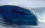 13 November 2003, Las Palmas de Gran Canaria, Spain --- A big wave peels across the reef in Las Palmas de Gran Canaria, Canary Islands, Spain. Photo by Victor Fraile --- Image by © Victor Fraile/Corbis