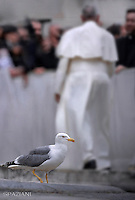 Pope Francis special Jubilee Audience at Saint Peter's Square at the Vatican on April 9, 2016.