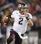 Texas A&amp;M quarterback Johnny Manziel (2) runs against Mississippi in Oxford, Miss. on Saturday, October 6, 2012. (AP Photo/Oxford Eagle, Bruce Newman)..