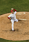 15 June 2012: Washington Nationals pitcher Mike Gonzalez on the mound against the New York Yankees at Nationals Park in Washington, DC. The Yankees defeated the Nationals 7-2 in the first game of their 3-game series. Mandatory Credit: Ed Wolfstein Photo