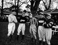 Racing at Leopardstown, Irish Jockeys.30/12/1958
