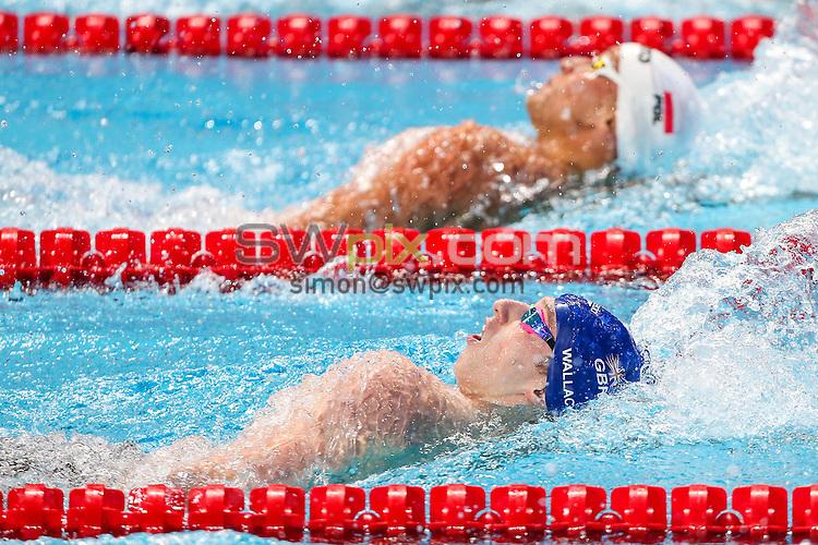 Picture by Alex Whitehead/SWpix.com - 06/08/2015 - Swimming - 16th FINA World Swimming Championships 2015 - Kazan Arena Stadium, Kazan, Russia - Great Britain's Dan Wallace.