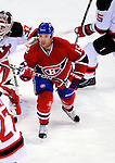 9 January 2010: Montreal Canadiens' center Glen Metropolit in action against the New Jersey Devils at the Bell Centre in Montreal, Quebec, Canada. The Devils edged out the Canadiens 2-1 in overtime. Mandatory Credit: Ed Wolfstein Photo