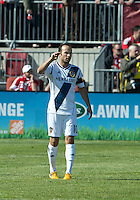 30 March 2013:Los Angeles Galaxy midfielder Landon Donovan #10 in action during an MLS game between the LA Galaxy and Toronto FC at BMO Field in Toronto, Ontario Canada..The game ended in a 2-2 draw..