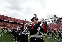 The Ohio State University marching band performs in the pre-game show before Saturday's NCAA Division I football game at Ohio Stadium in Columbus on November 26, 2016. (Barbara J. Perenic/The Columbus Dispatch)