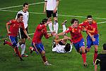 Fussball WM2010 Halbfinale: Deutschland - Spanien