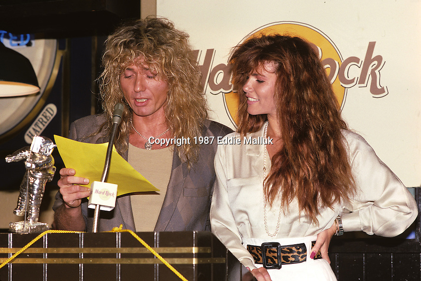 Tawny Kitaen and david coverdale married