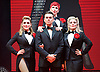 The Songbook of Judy Garland <br /> at The New Wimbledon Theatre, London, Great Britain <br /> press photocall <br /> 17th June 2015 <br /> <br /> <br /> Georgina Hagen<br /> Rachel Stanley <br /> Louise Dearman <br /> <br /> Ray Quinn <br /> <br /> <br /> <br /> Photograph by Elliott Franks <br /> Image licensed to Elliott Franks Photography Services