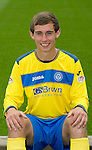 St Johnstone FC...Season 2011-12.Chris Moffat.Picture by Graeme Hart..Copyright Perthshire Picture Agency.Tel: 01738 623350  Mobile: 07990 594431