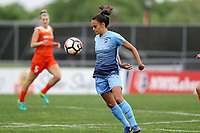 Piscataway, NJ - Saturday May 20, 2017: Taylor Lytle during a regular season National Women's Soccer League (NWSL) match between Sky Blue FC and the Houston Dash at Yurcak Field.  Sky Blue defeated Houston, 2-1.