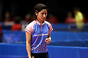 Yuko Watanabe,  JANUARY 20, 2011 - Table Tennis :  All Japan Table Tennis Championships, Women's Singles  at Tokyo Metropolitan Gymnasium, Tokyo, Japan.  (Photo by Daiju Kitamura/AFLO SPORT) [1045]