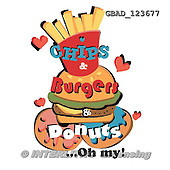 Addy, MODERN, paintings+++++,GBAD123677,#n# sandwich,burger