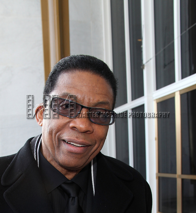 Herbie Hancock.attending the rehearsals for the 34th Kennedy Center Honors at Kennedy Center in Washington, D.C. on December 4, 2011