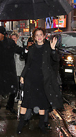 NEW YORK, NY - MARCH 10:  Emma Watson visits 'Good Morning America' to promote the movie 'Beauty and the Beast' in New York, New York on March 10, 2017.  Photo Credit: Rainmaker Photo/MediaPunch