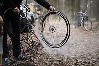 clean wheel <br /> <br /> Krawatencross Lille 2017