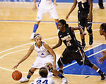 UK guard Keyla Snowden tries to get past her defender during the second half of the UK Women's basketball game against Southern Miss on 11/19/11 in Lexington, KY. Photo by Quianna Lige | Staff