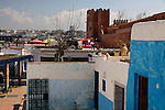 Africa, Morocco, Rabat. Kasbah Oudaya, the old city of Rabat.