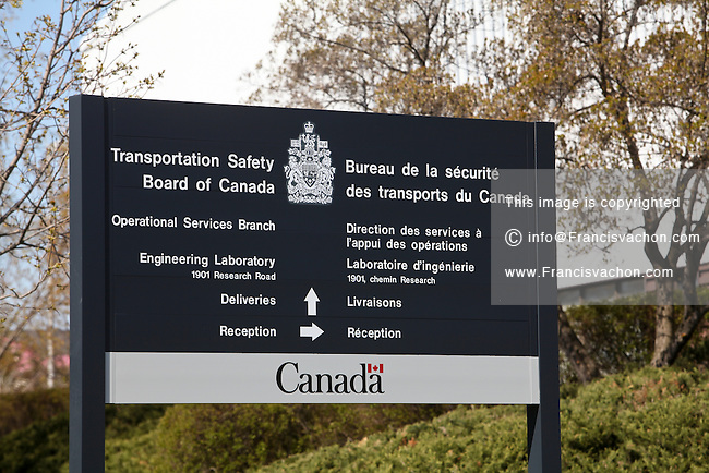 Transportation Safety Board of Canada offices is pictured in Ottawa Sunday April 29, 2012. The Transportation Safety Board of Canada, officially the Canadian Transportation Accident Investigation and Safety Board is the agency of the Government of Canada responsible for advancing transportation safety in Canada.