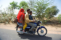On the road to Jaiselmer from Pushkar Rajasthan