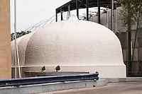 Fermentation tanks. JM Jose Maria da Fonseca, Azeitao, Setubal, Portugal