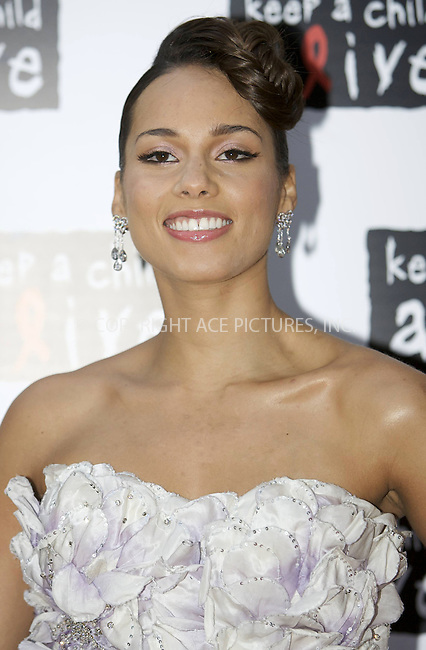 "WWW.ACEPIXS.COM . . . . .  ..... . . . . US SALES ONLY . . . . .....May 27 2010, London....Alicia Keys at the ""Keep A Child Alive Black Ball"" fundraiser on May 27 2010 in London....Please byline: FAMOUS-ACE PICTURES... . . . .  ....Ace Pictures, Inc:  ..Tel: (212) 243-8787..e-mail: info@acepixs.com..web: http://www.acepixs.com"