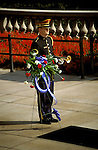 DC: Washington, DC Monuments, Military Honor Guard at the Tomb of the Unknown Soldier, Arlington National Cemetery, Arlington, VA  .Photo Copyright Lee Foster, lee@fostertravel.com, www.fostertravel.com, (510) 549-2202.Image washdc209
