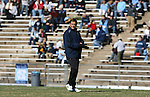 24 November 2007: Notre Dame head coach Randy Waldrum. The University of Notre Dame Fighting Irish defeated University of North Carolina Tar Heels 3-2 at Fetzer Field in Chapel Hill, North Carolina in a Third Round NCAA Division I Womens Soccer Tournament game.