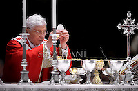 Mass for Cardinals who died during the year on Benedict XVI at The Vatican.November 3, 2012