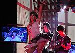 """Mexico (30.03.2006) Mexican singer Alejandra Guzman sings a song of her new album """"Indeleble"""" (Indelible) during a concert at the Mexico City's Hard Rock Cafe, March 30, 2006. Mexico (30.03.2006) La cantante mexicana Alejandra Guzman canta una cancion de su nuevo CD """"Indeleble"""" durante un concierto en el Hard Rock Cafe de la ciudad de Mexico...  © Photo by Javier Rodriguez"""