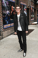 OCT 29 Jim Carrey At Late Show With David Letterman - NY