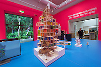 Venice, Italy - 15th Architecture Biennale 2016, &quot;Reporting from the Front&quot;.<br /> International Pavilion.<br /> Rogers Stirn Harbour + Partners' Continuous Search and Research for the Social Use of Hi-Tech.