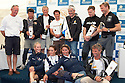 10th August 2011. Cowes. Isle of Wight..Pictures of Zara Phillips, Natalie Pinkham, Dee Caffari, Mark Tyndall, Ewan Mcgregor, Bernard Stamm, Vincent Riou and Alex Thomson at The Artemis Challenge prize giving ceremony after the round the Island race during Aberdeen Asset Management Cowes Week 2011...Credit: Lloyd Images.