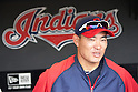 Kosuke Fukudome (Indians),JULY 29, 2011 - MLB :Kosuke Fukudome of the Cleveland Indians before the game against the Kansas City Royals at Progressive Field in Cleveland, Ohio, United States. (Photo by Thomas Anderson/AFLO) (JAPANESE NEWSPAPER OUT)