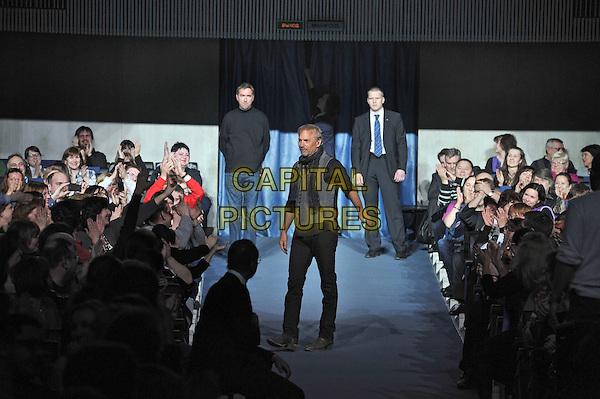 Kevin Costner .Kevin Costner & Modern West Live in concert, Saint Petersburg, Russia, April 11th 2013..full length walking grey gray black top waistcoat scarf .CAP/PER/VB.©VB/PersonaStars/CapitalPictures