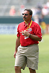 27 June 2004: League commissioner Tony DiCicco. The San Diego Spirit defeated the Carolina Courage 2-1 at the Home Depot Center in Carson, CA in Womens United Soccer Association soccer game featuring guest players from other teams.